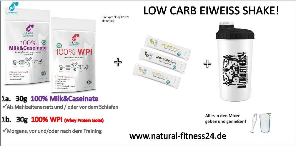 low carb eiweiß shake