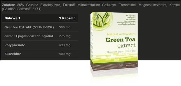 olimp Green Tea Extract Kapseln