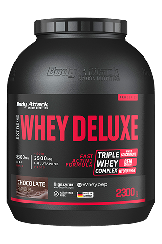 Body Attack Whey Protein - Extreme Whey Deluxe