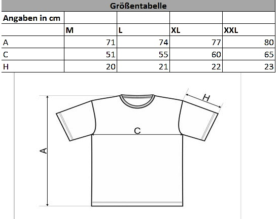 Spezifikationen-T-shirt-camouflag