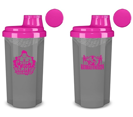 protein shaker pink