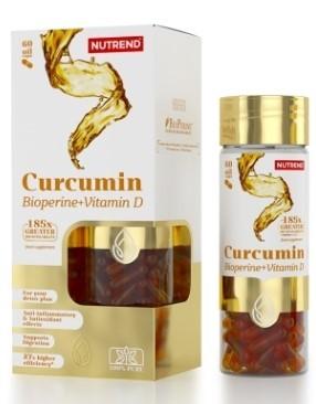 nutrend curcumin bioperine vitamin d