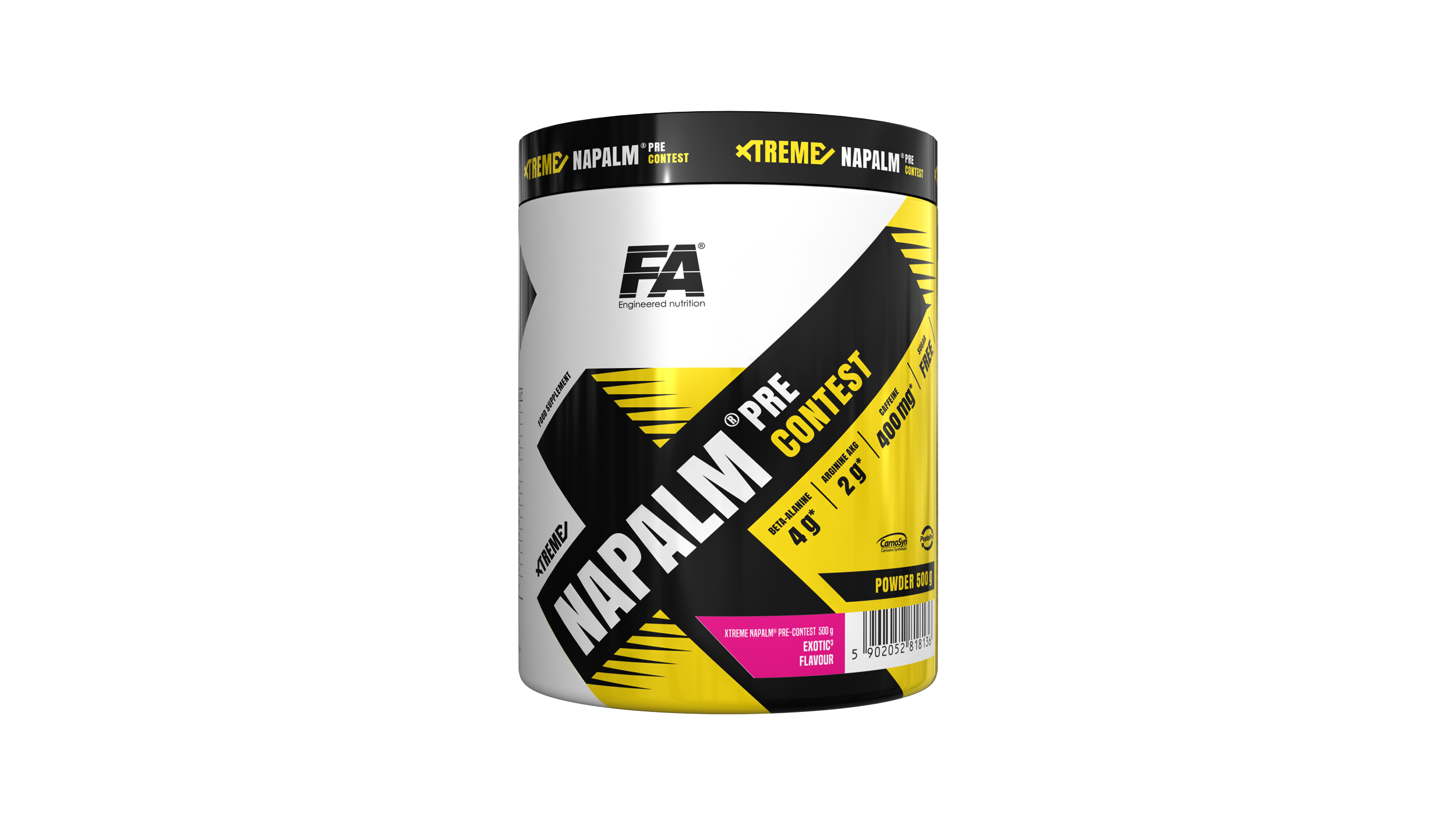 fa nutrition napalm booster