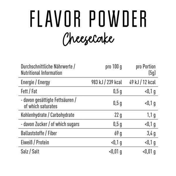 got7-flavor-Naehrwerte-cheesecake