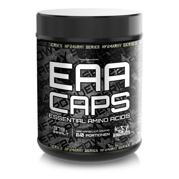 NF24Army EAA Caps - Essentielle Aminosäuren Kapseln