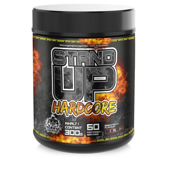 NF24 Stand Up Hardcore - Pre Workout Booster - Fokus Booster