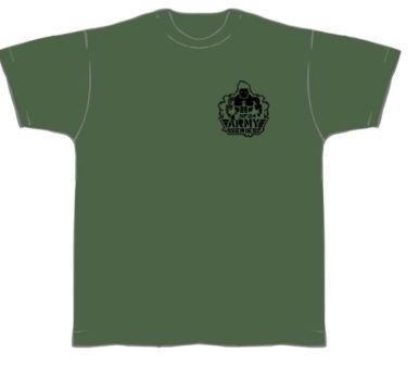 NF24 T-Shirt (Olive m. Aufdruck in Schwarz)
