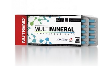 Nutrend Multimineral Compressed Caps Kapseln