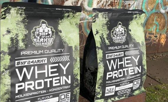 Whey-Protein-Einnahme