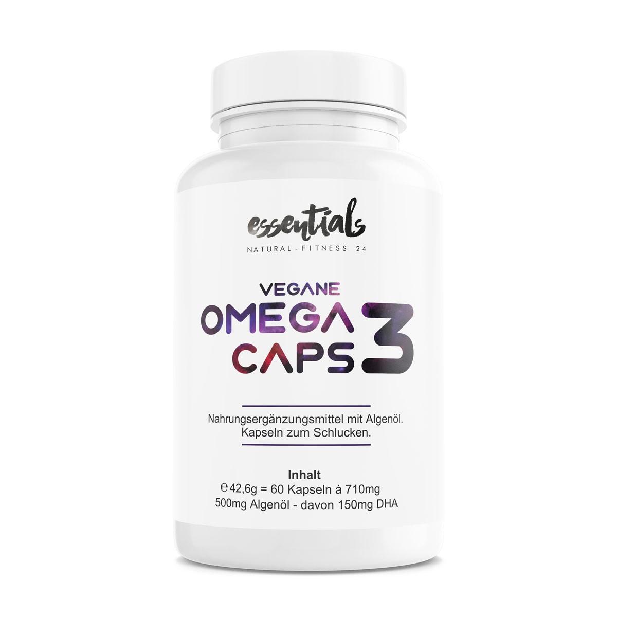 Vegane Omega 3 Kapseln