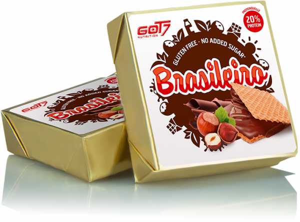 Got7 Brasileiro - Gefüllte Proteinwaffel