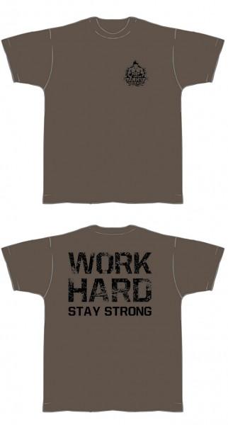 T-Shirt olivgrün - Shirt Fitness von NF24 (Abbildung ähnlich)