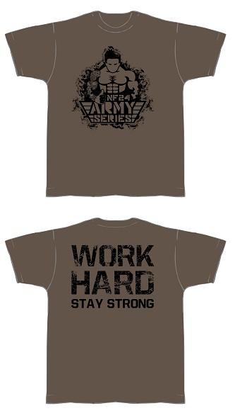 NF24 T-Shirt (Olive m. Aufdruck in Schwarz) (Abbildung ähnlich)