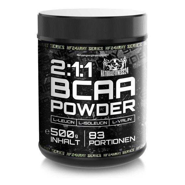 BCAA Drink - BCAA Pulver 500g - NF24 ArmySeries