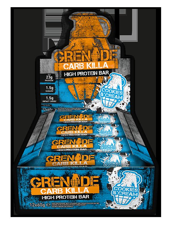 grenade carb killa riegel