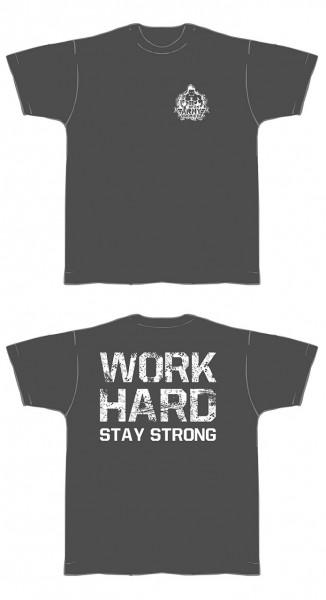 NF24 T-Shirt ArmySeries (Dunkelgrau mit weißem Aufdruck) (Abbildung ähnlich)