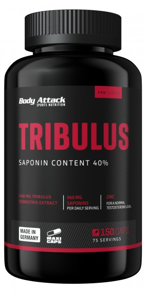 Body Attack Tribulus Terrestris 2400 - 150 Maxi-Caps