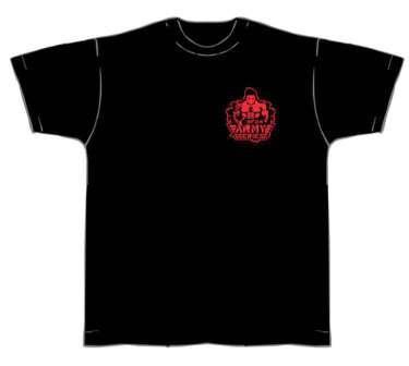 NF24 T-Shirt (Schwarz m. Aufdruck in Neonrot) (Abbildung ähnlich)