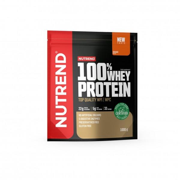 Nutrend 100% Whey Protein Orange