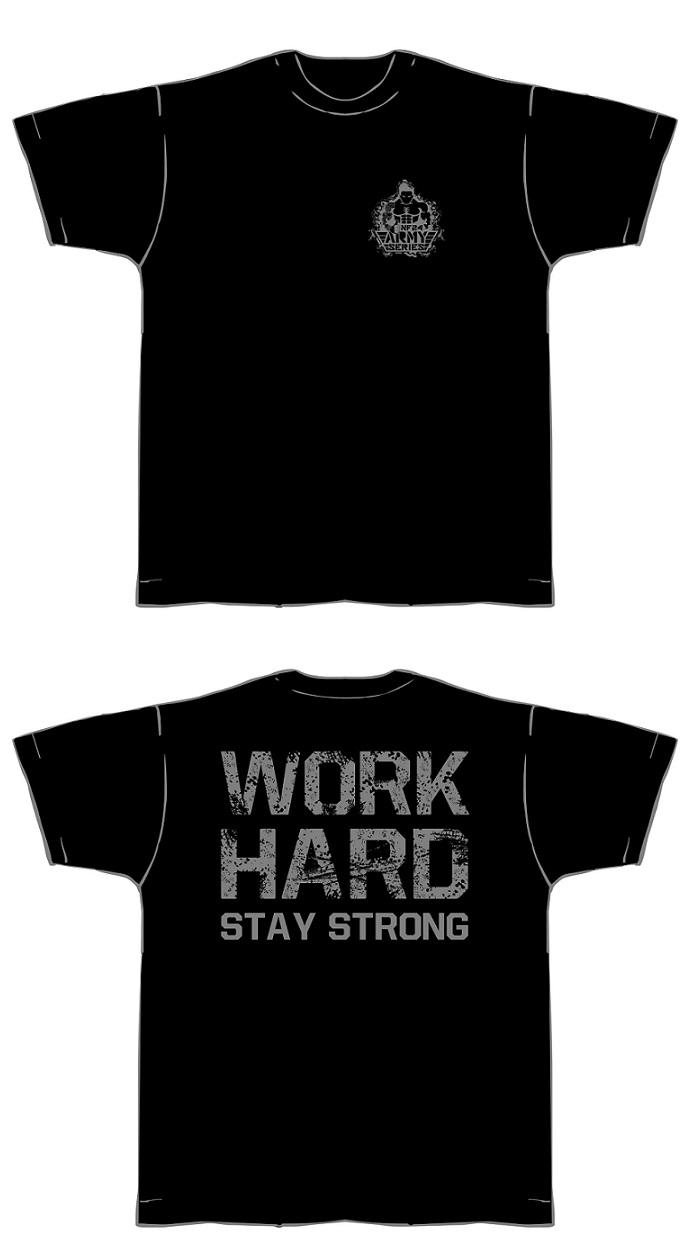 T-Shirt-schwarz-grau-neu