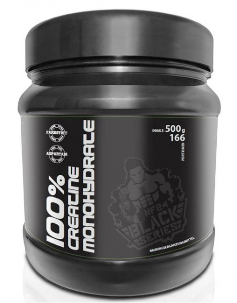 NF24 Black Series 100% Creatine Monohydrate 500g