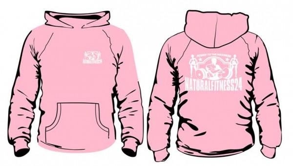 nf24 gym hoodie rosa