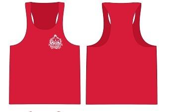 Gym Stringer Herren - Tank Top Herren rot von NF24