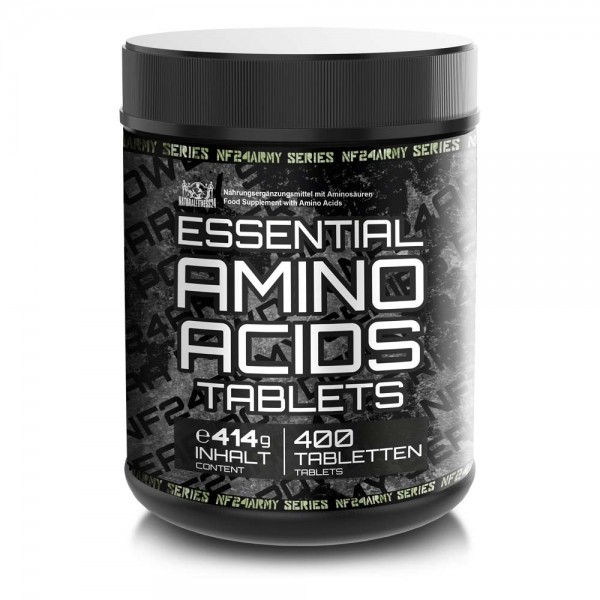 EAA Tabletten - Essentielle Aminosäure Tabletten 400 Stück - NF24 ArmySeries
