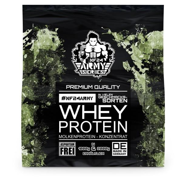 NF24Army Whey Protein Konzentrat Pulver 2Kg