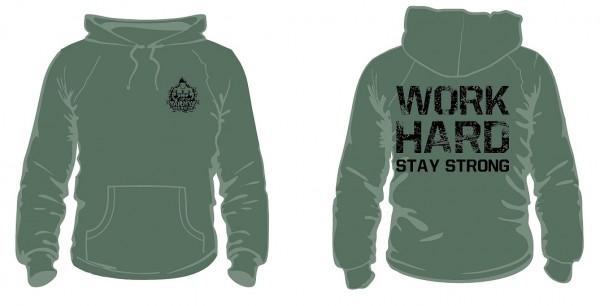 Gym Hoodie Olivegrün - Fitness Hoodie von NF24