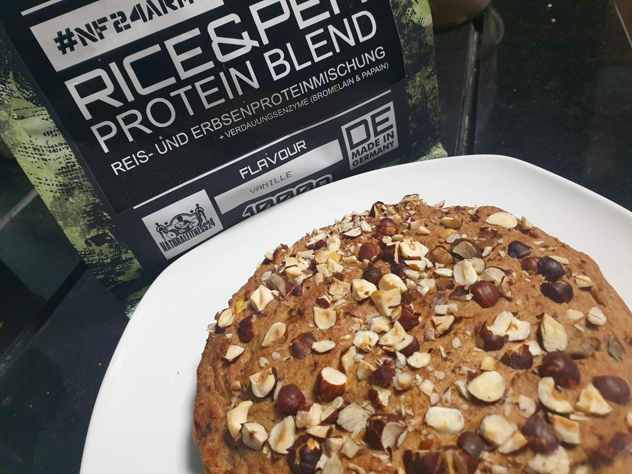 veganes proteinpulver rezept