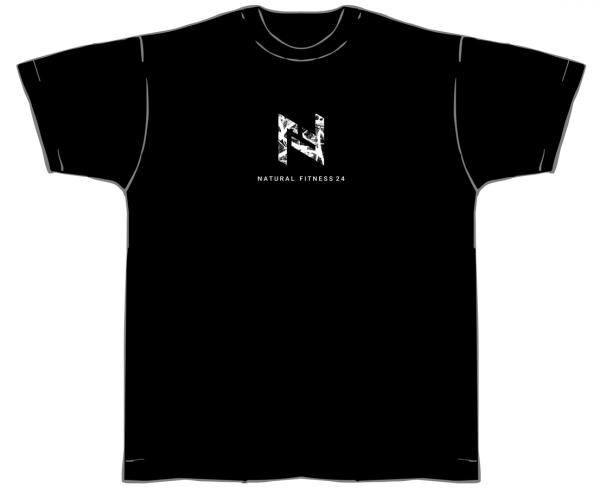 NF24 T-Shirt Gym Herren schwarz