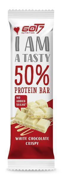 GOT7 50% Protein Bar White Chocolate Crispy- Proteinriegel