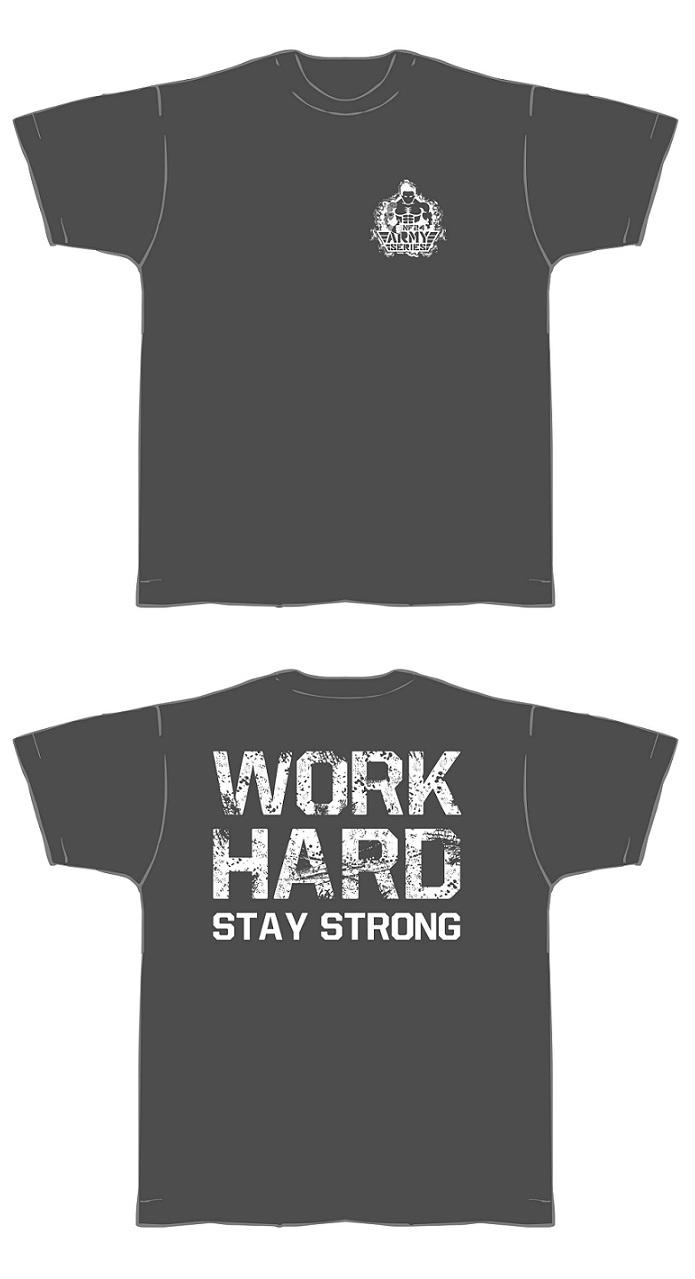 T-Shirt-grau-weiss-neu