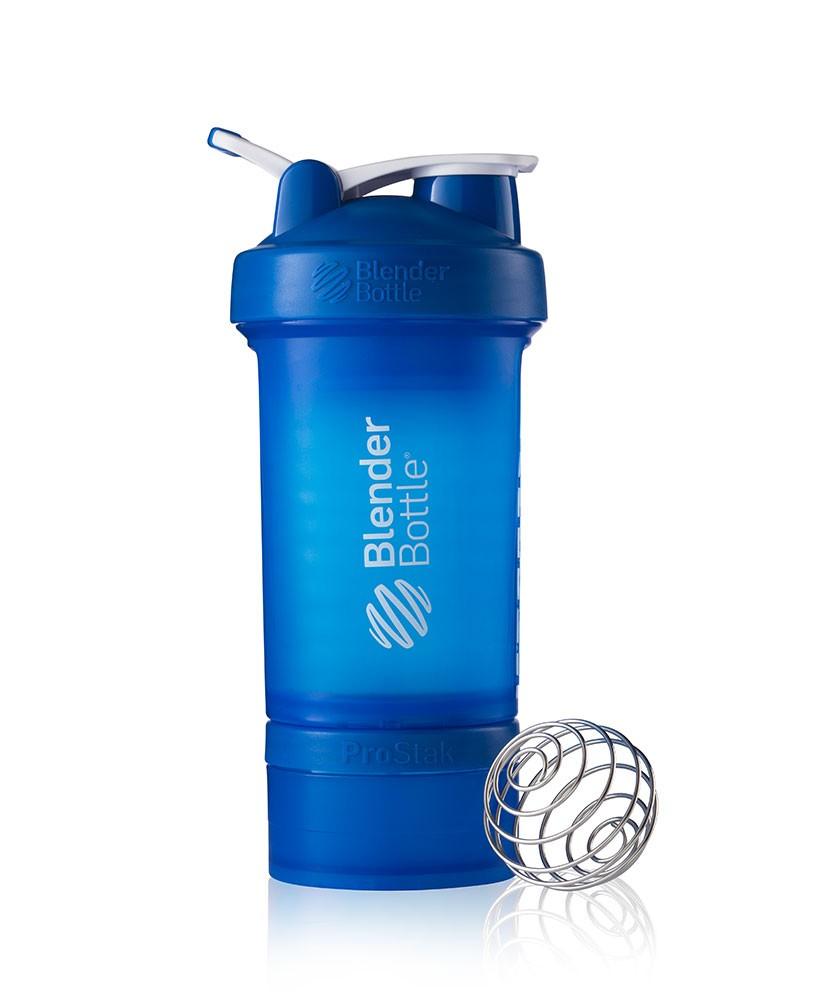 blender bottler shaker blau